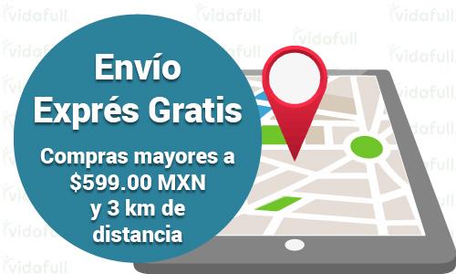 Envíos exprés gratis en compras mayores a $599.00 MXN y hasta 3 km de distancia de alguna de nuestras tiendas