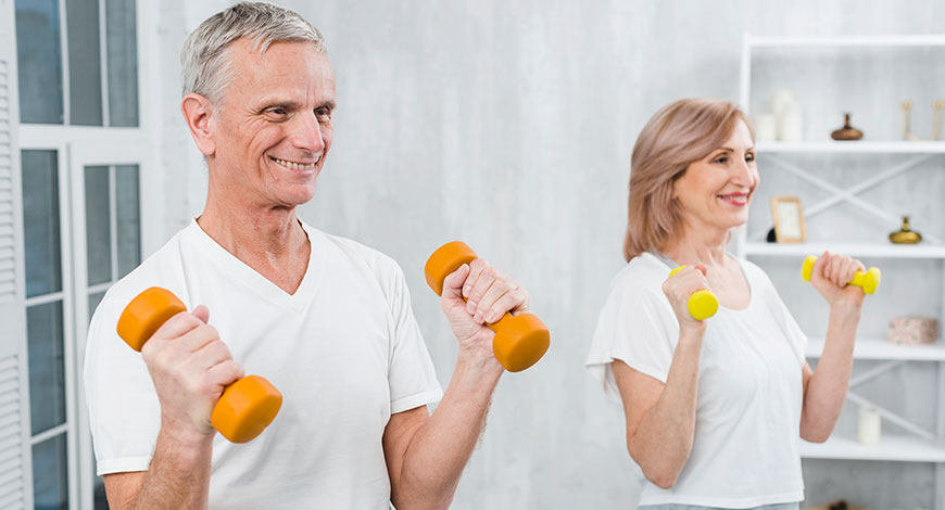 Pérdida de masa muscular en adultos