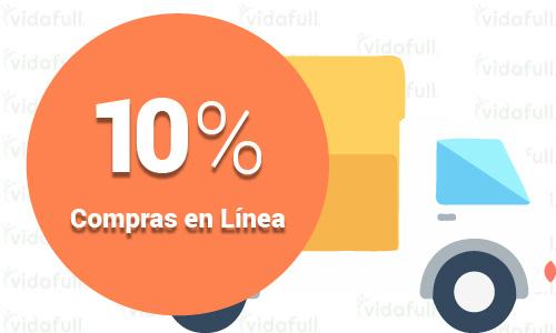 10% de descuento en compras en línea